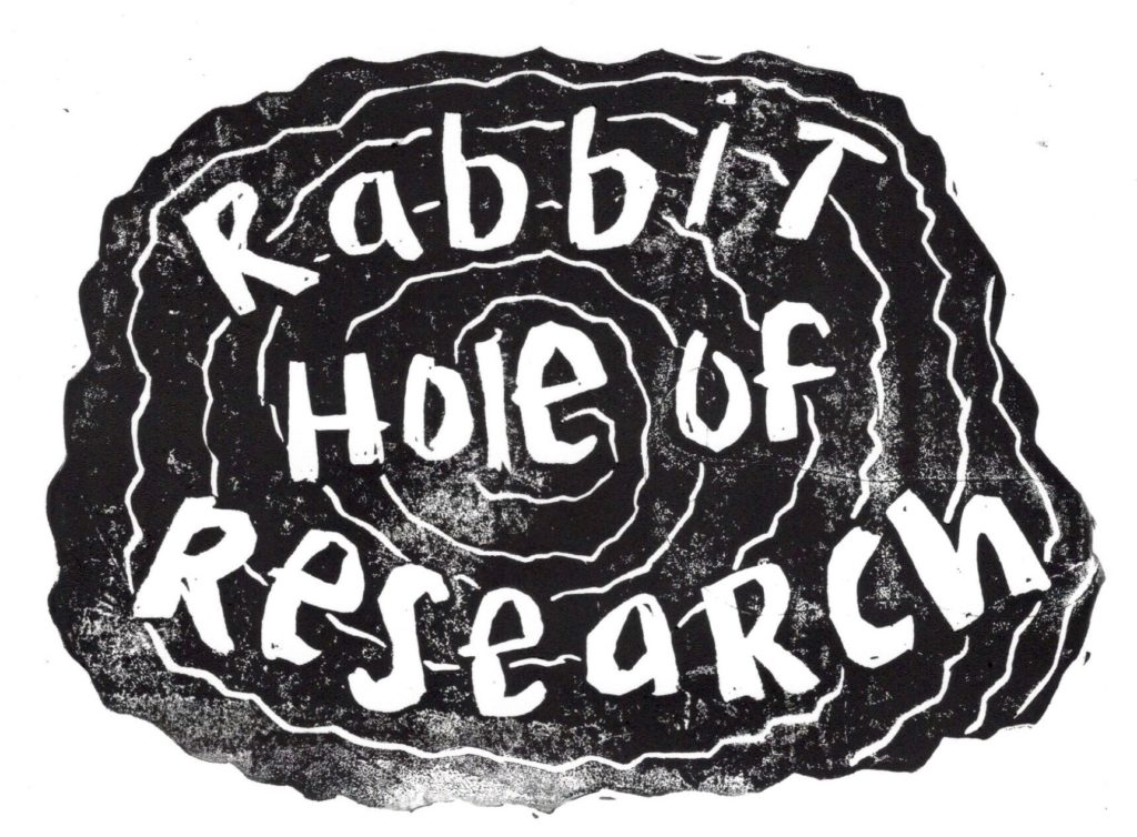 Logo for Rabbit Hole of Research